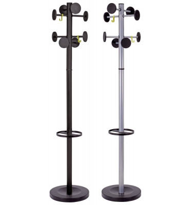Garderobenständer STAN3 grau-metallic