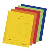 Schnellhefter 1103 A4 farbig sortiert 240g Karton kaufmännische Heftung / Amtsheftung bis 240 Blatt