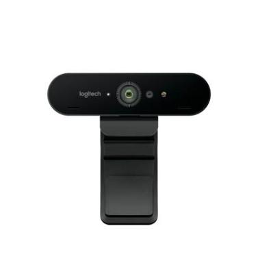 HD-Webcam 4096 x 2160 Pixel Logitech Brio Standfuß, Klemm-Halterung