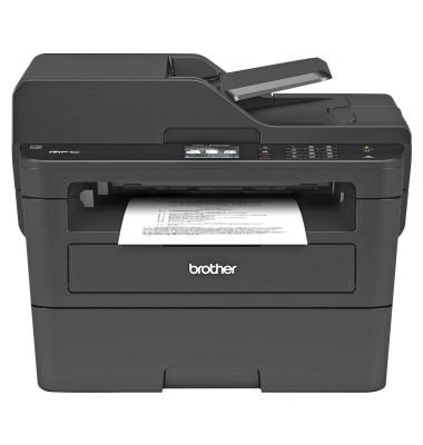 Brother MFC-L2730DW Monolaser-Multifunktionsdrucker A4 Drucker, Scanner,  Kopierer, Fax Duplex