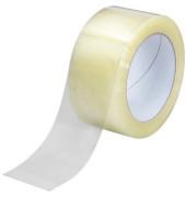 Packband 167318, 50mm x 66m, PP, transparent