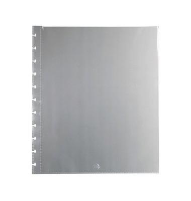Prospekthülle ARC, Polypropylen (RC), oben offen, 11fach Lochung, A4, transparent (25 Stück)