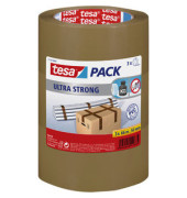 Packband Tesapack Ultra Strong 51124-00008, 50mm x 66m, PP, braun