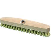 Schrubber, Verschraubung, Holz, Borsten: Myprenfibre, B: 29,5 cm
