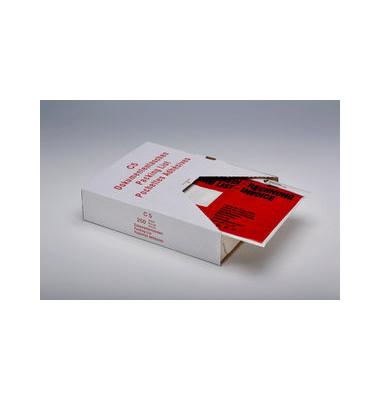 """Lieferscheintaschen Unipack C5 """"LIEFERSCHEIN - RECHNUNG"""" selbstklebend 250 Stück 522V0005019"""