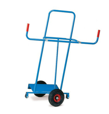 Transportkarre für Platten 1075 tragfähig bis 400kg blau Stahl