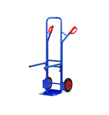 Transportkarre für Stühle B1345V tragfähig bis 300kg blau 32x25cm Metall