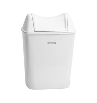 Hygiene-Abfallbehälter weiß 8 Liter