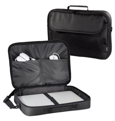 Laptoptasche Montego, Polytex, D: 43,94 cm, 45 x 7,5 x 33 cm, schwarz