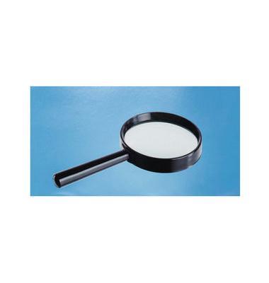 Lupe, Basic, 1,75 x, Linsengröße: 75 mm, schwarz
