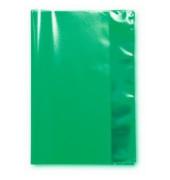 Heftschoner Heftumschlag A4 gruen grün transparent