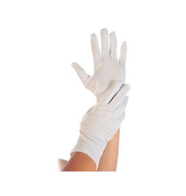 Handschuh BLANC, Baumwolle/Polyester, Größe: S, weiß