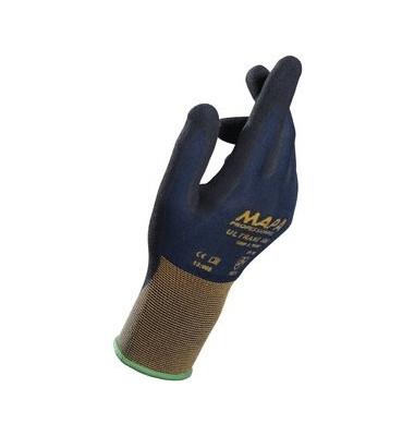 Handschuh Ultrane 500, Nitril, Größe: 9, schwarz