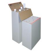 Archivbox Top-Plan-Box, Wellpappe, A1, 64 x 32 x 94 cm, weiß