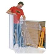 Schutzfolie, für Paletten, PE, 120 x 160 cm, farblos, transparent