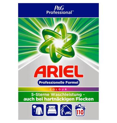 Waschmittel Professional, Colour, Pulver, Karton, für 110 Reinigungen
