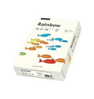 Coloured Paper naturweiß pastell A5 160g Kopierpapier 250 Blatt