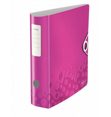 Leitz WOW 11060023 pink Ordner A4 82mm breit
