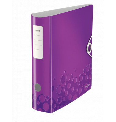 Leitz WOW 11060062 violett Ordner A4 82mm breit