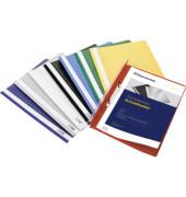 Schnellhefter 2966 A4 schwarz PP Kunststoff kaufmännische Heftung bis 70 Blatt 10 Stück