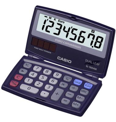 Casio Taschenrechner SL-100VER 8-stellig Casio SL-100VER
