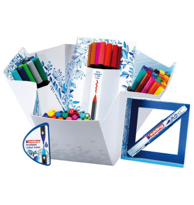 "edding Schreibset ""Colour Happy Big Box"" 4-CH69+1, 70-teilig"
