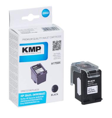 KMP H175 schwarz Tintenpatrone ersetzt HP 304XL