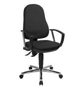 Topstar Support® P Deluxe Bürostuhl schwarz