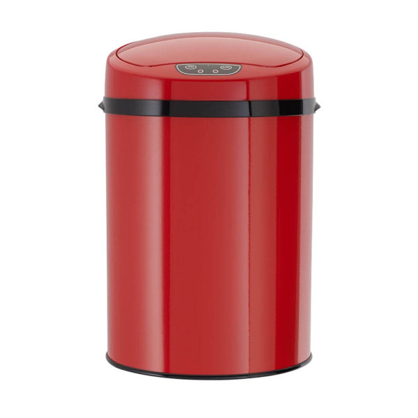 Echtwerk Echtwerk Sensor Mülleimer 9,0 l rot