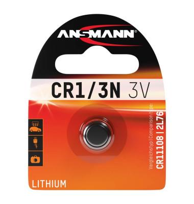 ANSMANN Knopfzelle CR 1/3N 3,0 V