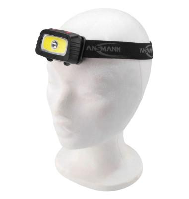 ANSMANN Headlight HD200B Stirnlampe 3,0 W