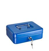 Geldkassette 840 blau 150x115x80mm