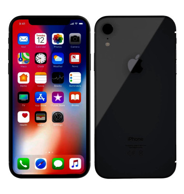 Apple iPhone XR schwarz 128 GB