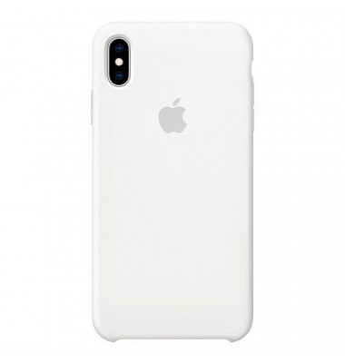 Apple Handy-Cover für Apple iPhone XS Max weiß