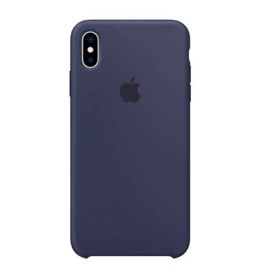 Apple Handy-Cover für Apple iPhone XS Max blau