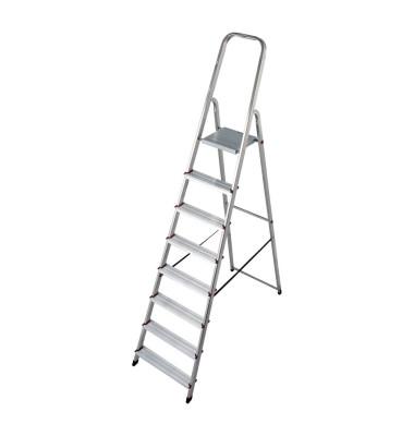 Alu Leiter 0007 Corda 8 Stufen