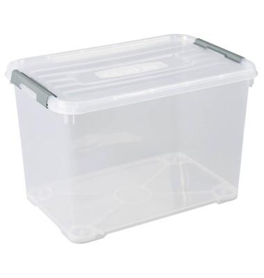 curver HANDY Aufbewahrungsboxen 65,0 l transparent 60,0 x 40,0 x 38,8 cm