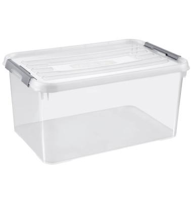 curver HANDY Aufbewahrungsboxen 50,0 l transparent 60,0 x 40,0 x 29,0 cm