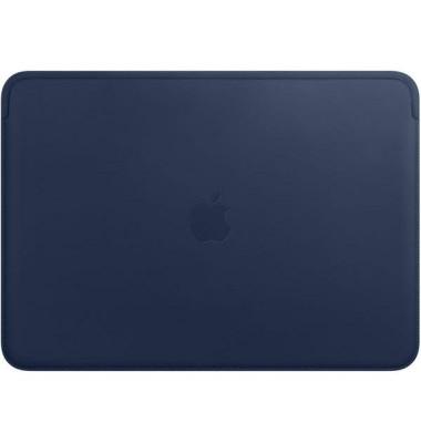Apple Laptoptasche Lederhülle Leder blau