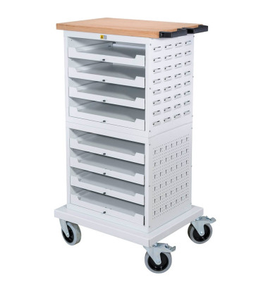 Allit EuroPlus Werkstattwagen grau 8 Schubladen