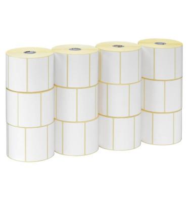 800274-205 102 x 51 mm Z Select 2000D Etiketten weiß 12x 1370 Stück