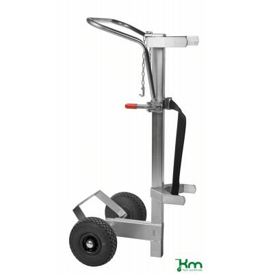 Karren verzinkt bis 80 kg 2 Bockrollen 600x600x1440mm KM07200