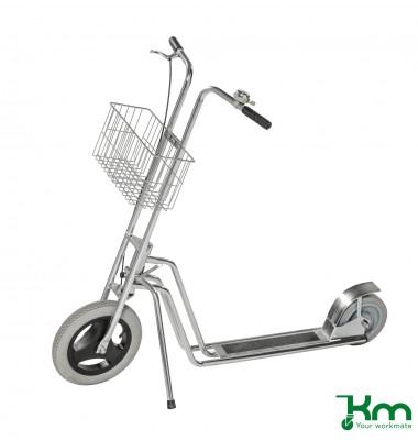 Scooter verzinkt bis 150 kg Unplattbare Räder 1230x645x1070mm KM07340PF