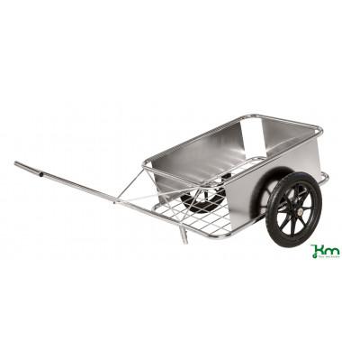 Karren rostfrei bis 150 kg 2 unplattbare Reifen 1650x830x502mm KM07390