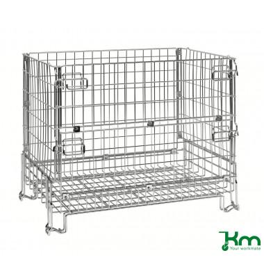 Palettenrahmen & Palettencontainer verzinkt bis 1000 kg  1200x800x980mm KM079119