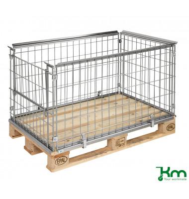Palettenrahmen & Palettencontainer verzinkt bis  kg  1220x820x640mm KM080062A1