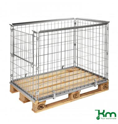 Palettenrahmen & Palettencontainer verzinkt bis  kg  1220x820x870mm KM080085A1