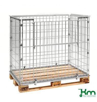 Palettenrahmen & Palettencontainer verzinkt bis  kg  1220x820x1020mm KM080100