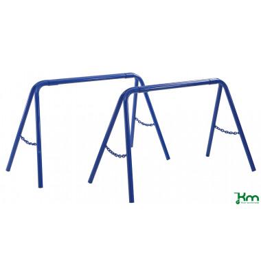 Baustellenwagen blau bis 325 kg  1095x525x665mm KM08375