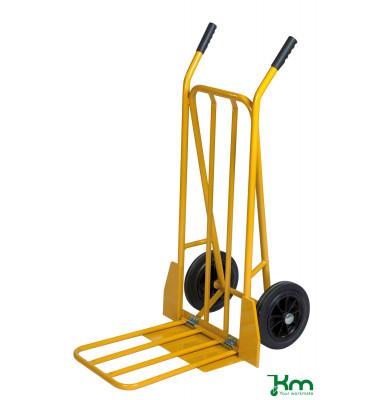 Karren gelb bis 250 kg Vollgummiräder 250 mm 780x555x1110mm KM103